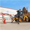 山东恒旺生产的两头忙挖掘机 挖掘装载机 前铲后挖一体机
