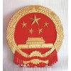 大型警徽厂家,贴金警徽制作
