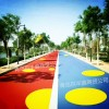 百丰鑫18660000543彩色路面改色剂修改路面颜色实力战将